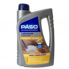 Limpiador suelos Parquet o madera barnizada. Paso Profesional