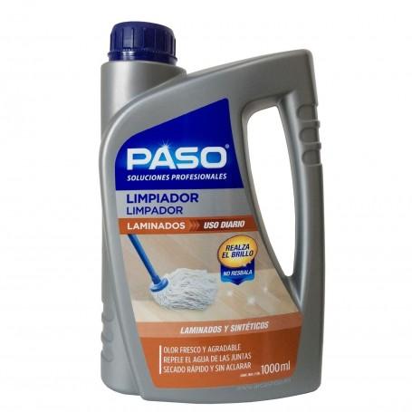 Limpiador de laminados y suelos sintéticos. Paso Profesional. Suelos laminados y sintéticos, de corcho, linóleo y vinilo.