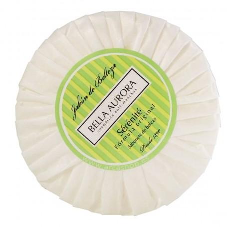Jabón de tocador Bella Aurora Sérénité. Jabón limpiador antimanchas