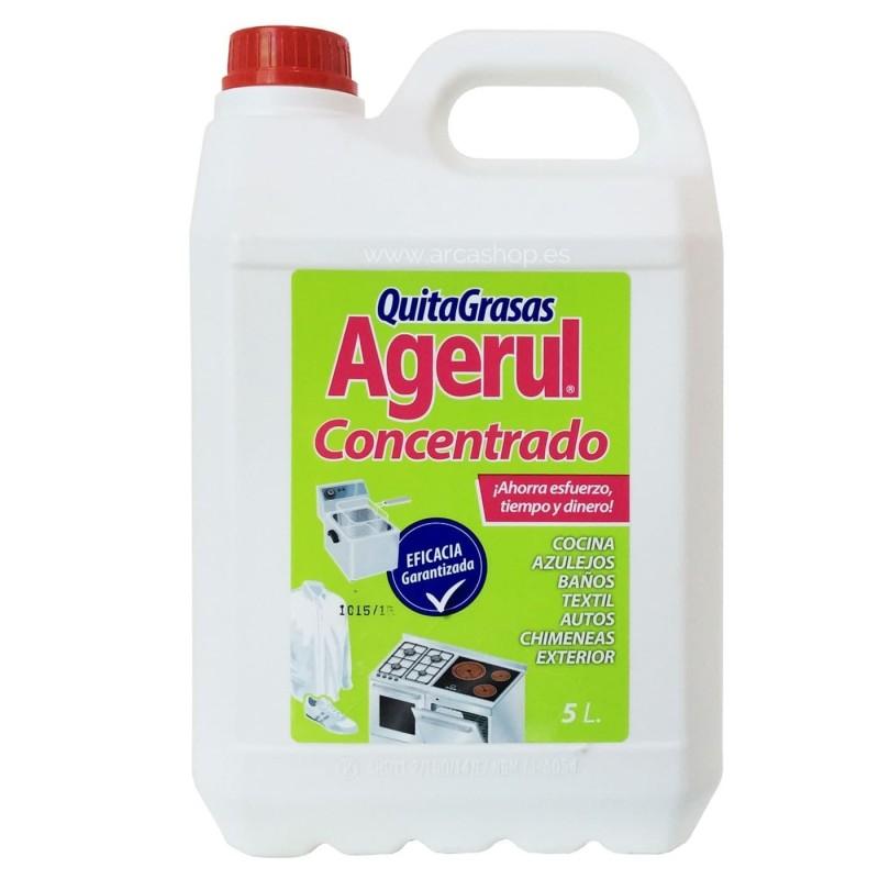 Quitagrasas Agerul Concentrado 5 litros