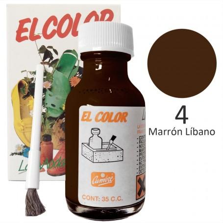 Tinte  marrón líbano