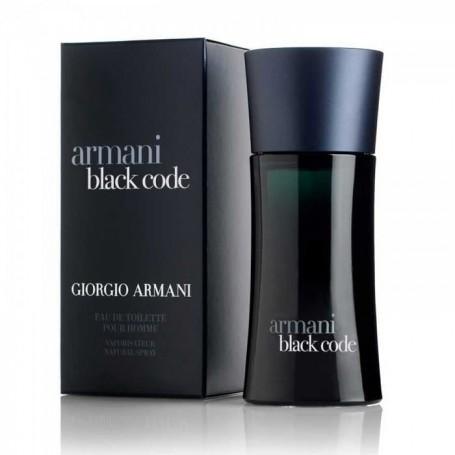 Black Code Armani
