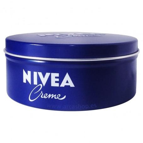 Crema NIVEA lata azul