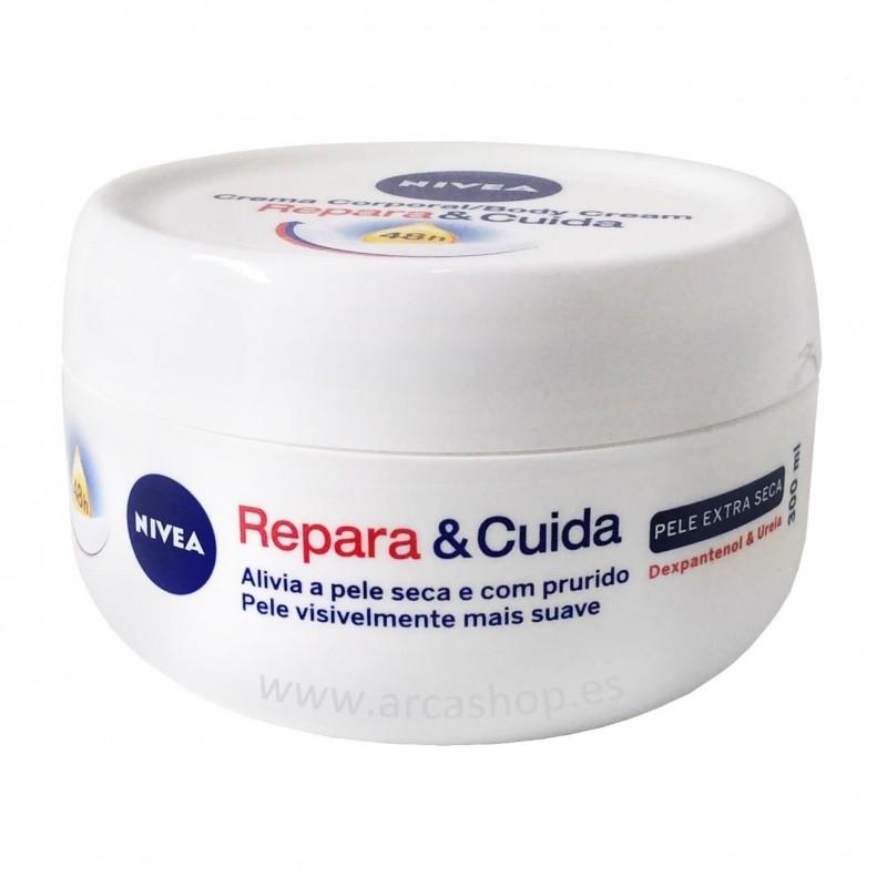 Crema Repara y Cuida NIVEA. Body Cream Repara & Cuida.