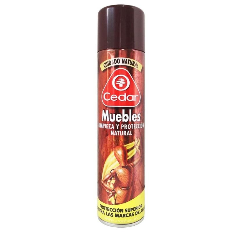 Spray para la limpieza y protección de muebles Ocedar.