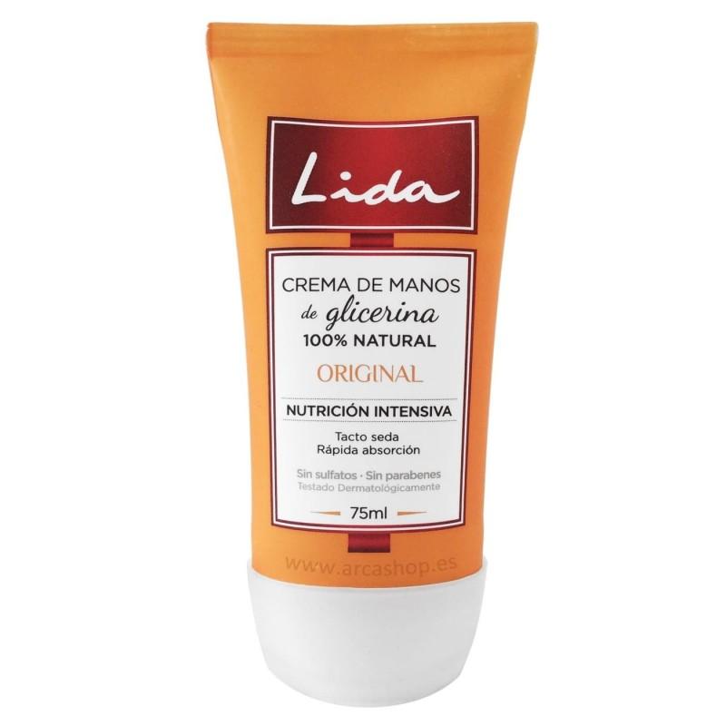 Crema de Manos Glicerina Natural Lida