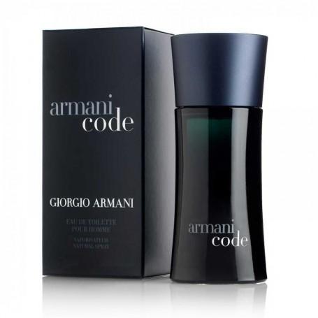 Armani Code, para un hombre elegante, misterioso e íntimo.