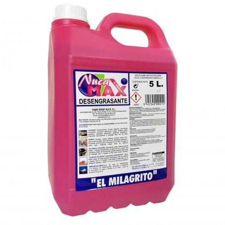 Milagrito Quitagrasas Desengrasante 5 litros