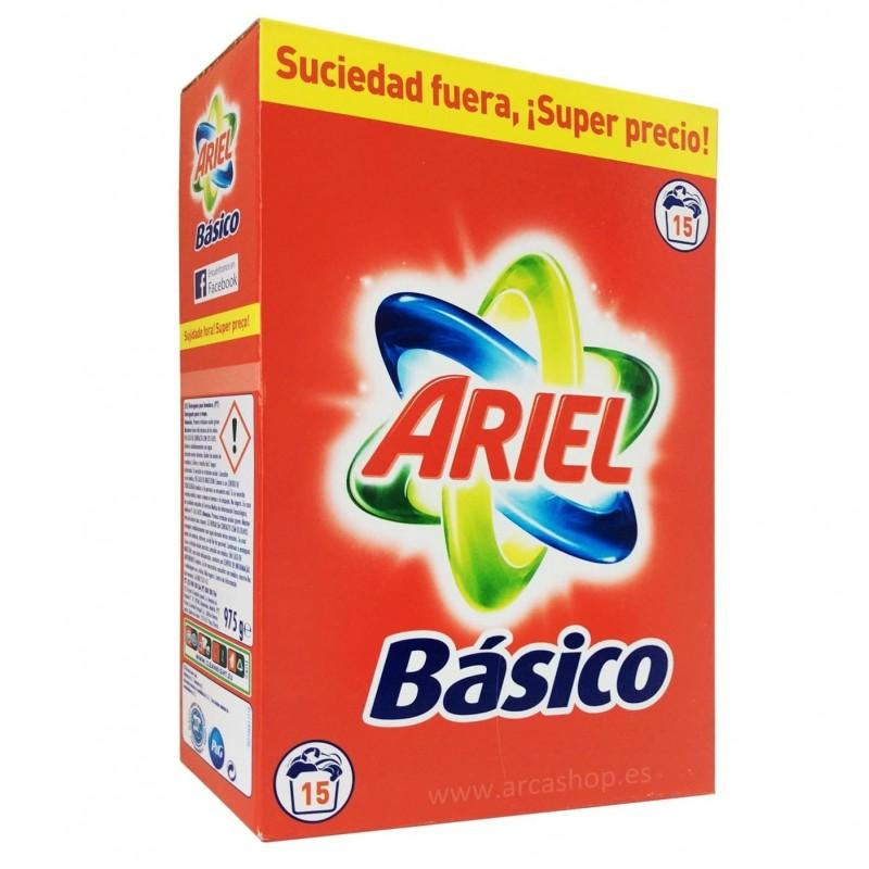 Ariel Básico Detergente en Polvo
