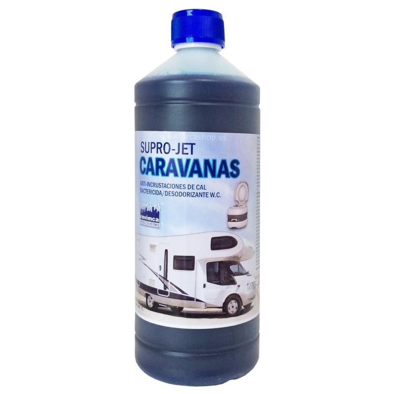 SUPRO JET CARAVANAS Anti-incrustaciones de Cal, Bacterizida y Desodorizante W.C.
