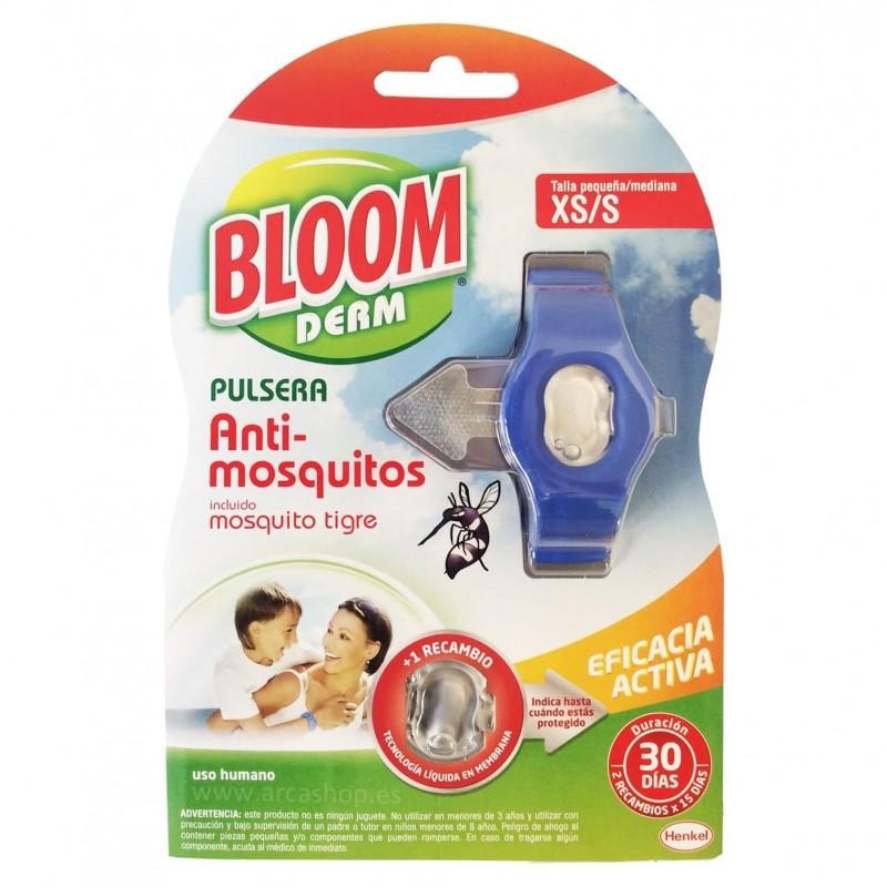 Pulsera Repelente Mosquitos BLOOM Derm