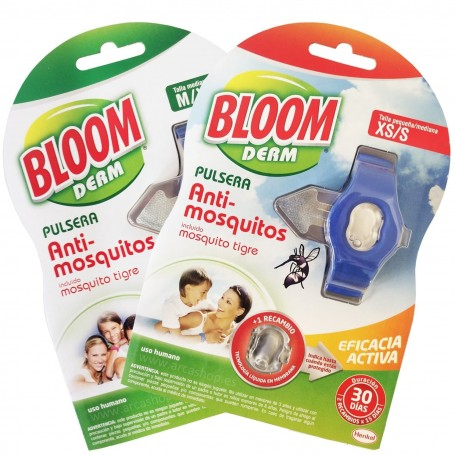 Pulsera Repelente Mosquitos BLOOM Derm