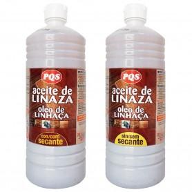Aceite linaza pqs sin secante tratamiento suelos, madera y solería rústica