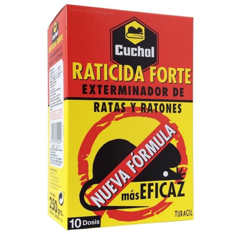 Raticida Forte Cuchol. Exterminador de Ratones y Ratas