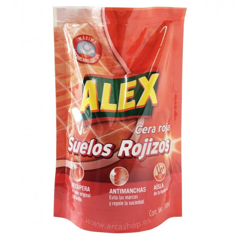 Cera Alex Roja e Incolora en bolsa
