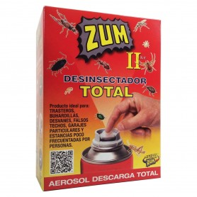 ZUM II Desinfección Total. Spray Insecticida dosificador.