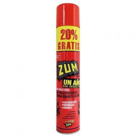 Laca Insecticida ZUM. Instantáneo y perdurable por un año
