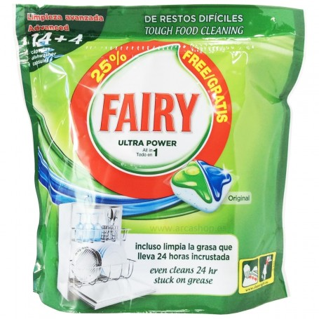 Fairy Detergente Lavavajillas All in One Original