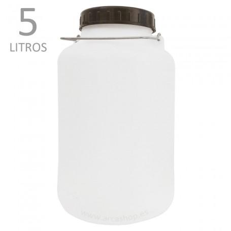 Garrafas y Bidones de plástico Standard 5 litros