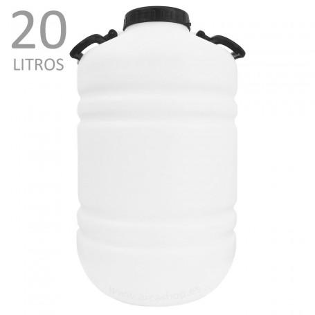 Garrafas y Bidones de plástico Standard 20 litros