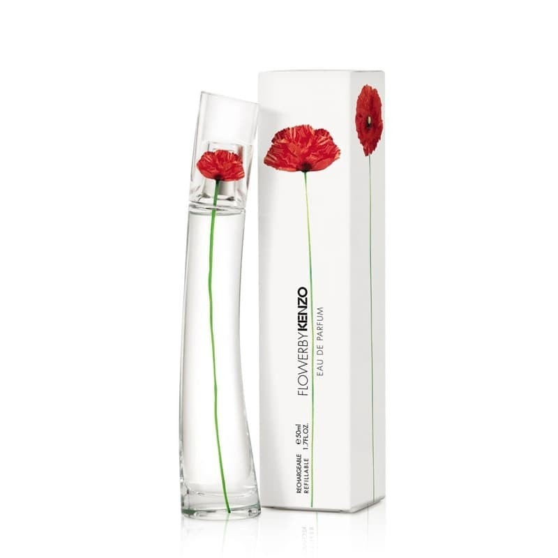 Kenzo Flower, EDP, perfume floral para mujeres sensuales y elegantes.