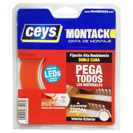 Especial LED. Montack Cinta de Montaje doble cara Ceys