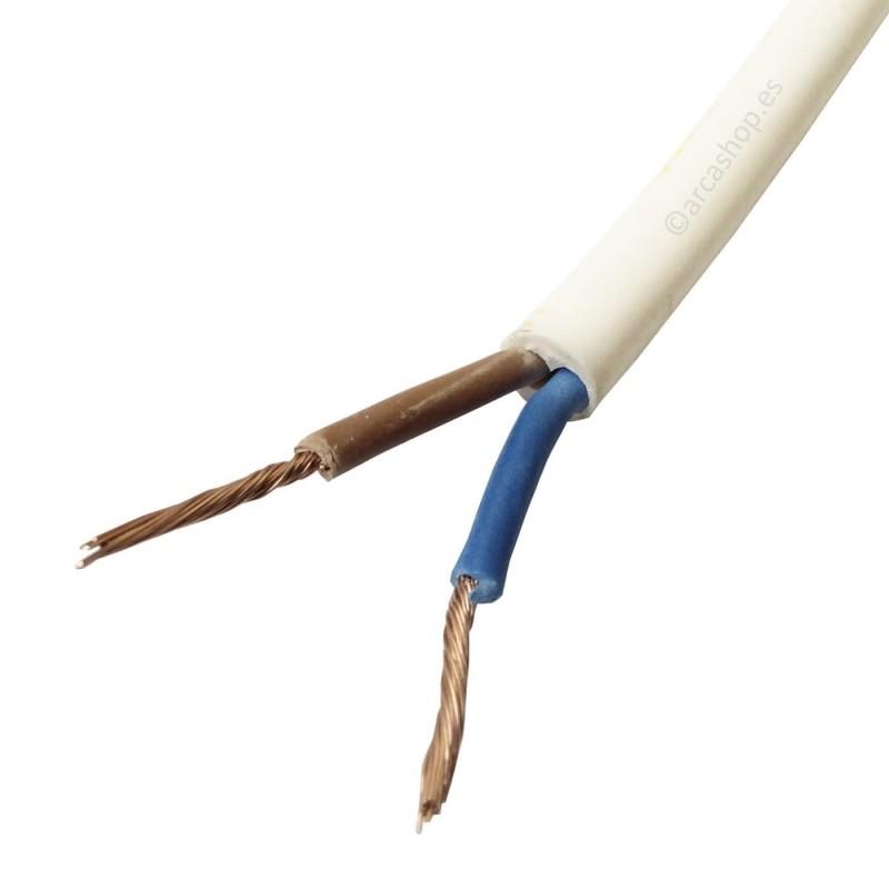Cable Manguera Blanca y Negra Iluminación, Herramientas y Electrodomésticos.