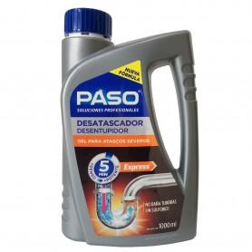 Desatascador Gel PASO Profesional para atascos severos