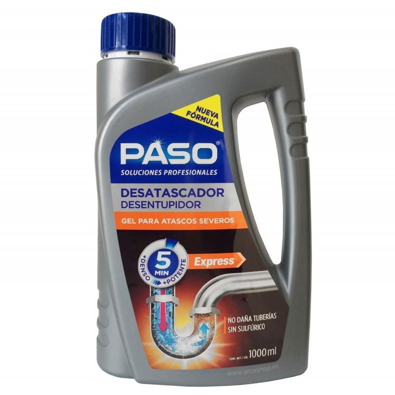 Desatascador Gel Express PASO Profesional