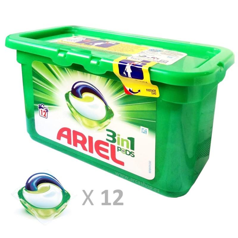 Capsulas Ariel 3en1 Pods Combinaci N De L Quidos Detergentes Para  ~ Mejor Detergente Lavadora Calidad Precio
