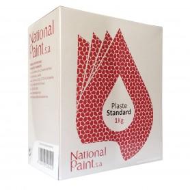 Emplaste Interior National Paint grietas, agujeros y fisuras. Reparar paredes y techos. Pintar