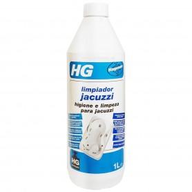 Limpiador Jacuzzi y Hidromasaje HG. Para sistema jacuzzi con o sin sistema automático de limpieza.