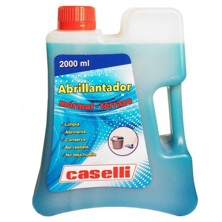 Abrillantador Caselli 2 litros. Abrillantar y limpiar suelos de mármol y terrazo