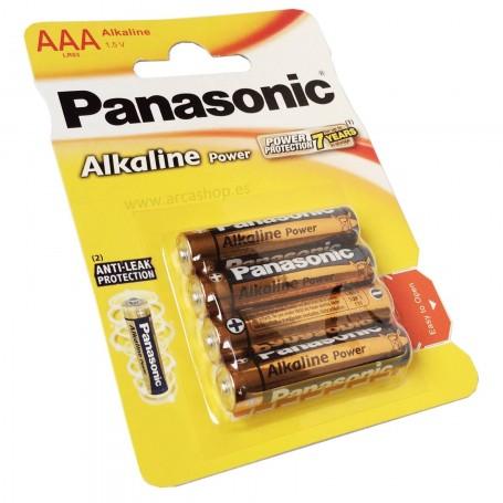 Pilas Alcalinas Panasonic AAA 1.5V