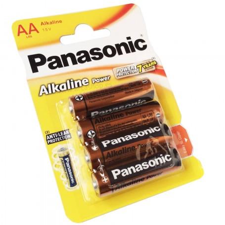 Pilas Alcalinas Panasonic AA 1.5V