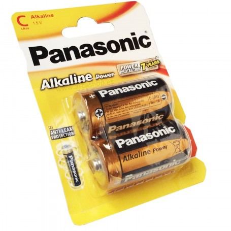 Pilas Alcalinas Panasonic C 1.5V