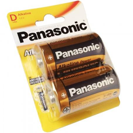 Pilas Alcalinas Panasonic D 1.5V