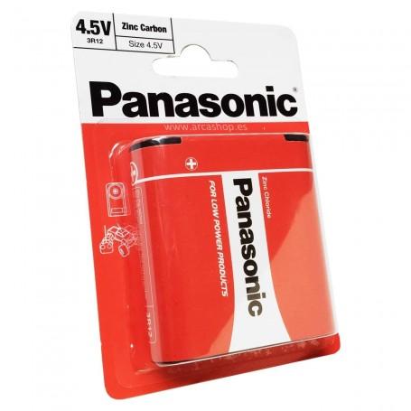 Pilas Petaca Ejercicios Escolares y manualidades 4.5V Panasonic