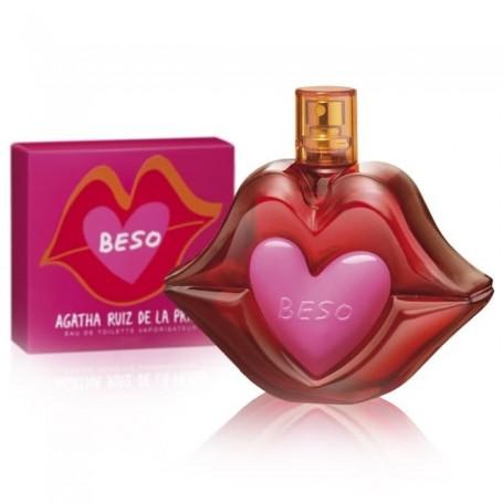 Beso de Agatha Ruiz de la Prada, una fragancia divertida y atrevida.