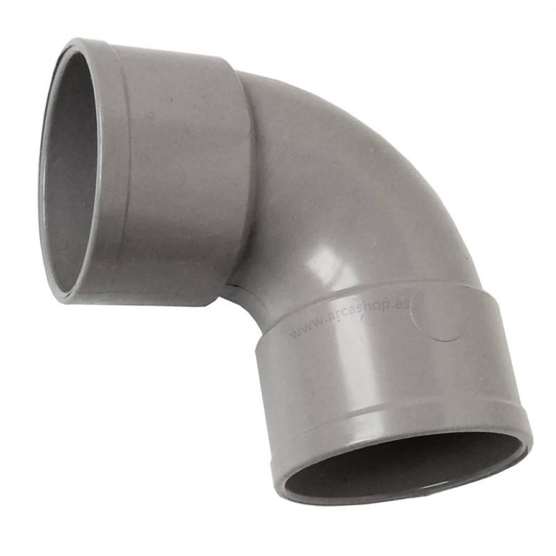 Codo PVC 90º Hembra-Hembra