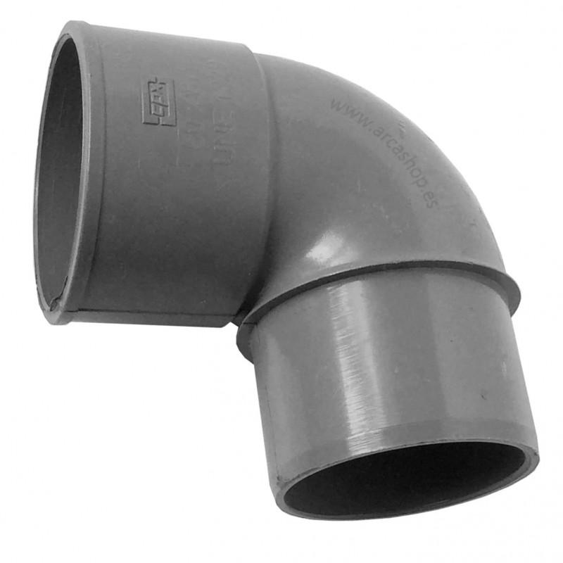 Codo PVC 90º Macho-Hembra