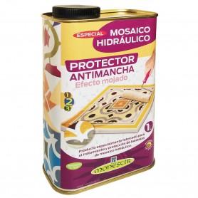 Protector EFECTO MOJADO Antimancha Mosaico Hidráulico Monestir