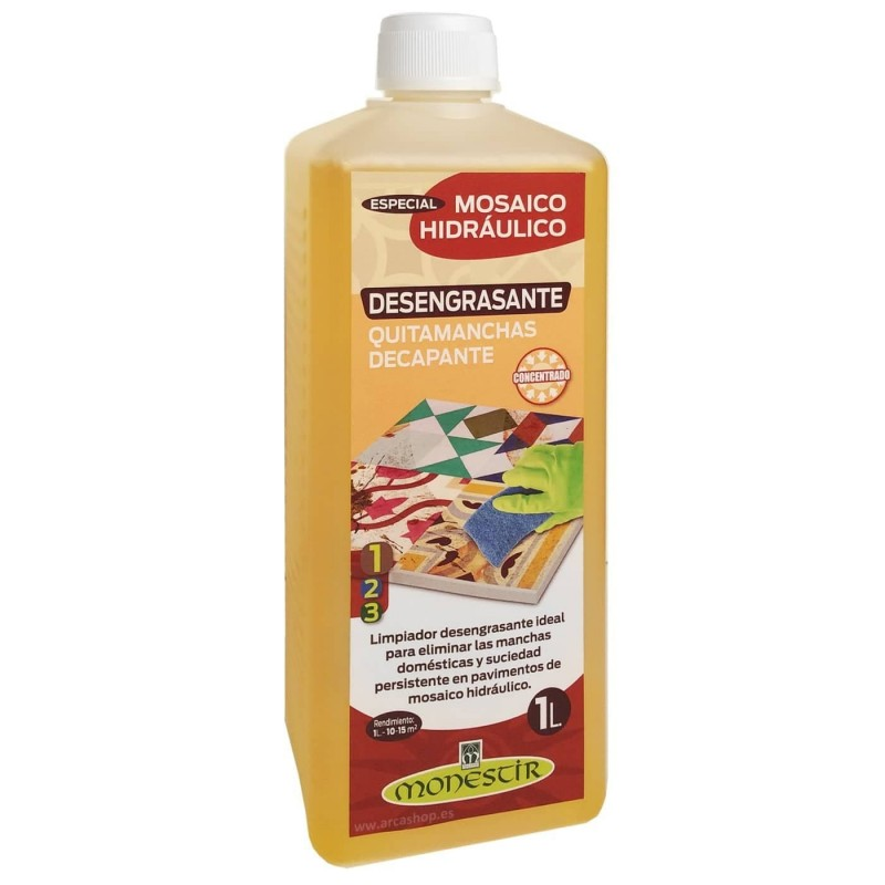 Desengrasante Quitamanchas Decapante Mosaico Hidráulico Monestir