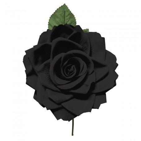 Flor de Gitana o Flamenca Clásica negra