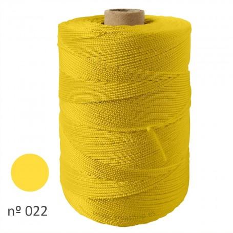 Hilo Cuquillo  Amarillo Pollo 022 Rollo. Mantones Flamenca