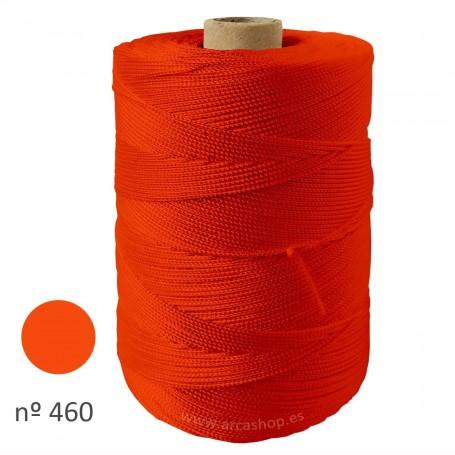 Hilo Cuquillo Naranja Fuerte Rollo. Mantones Flamenca