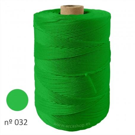 Hilo Cuquillo verde primavera Rollo. Mantoncillo gitana