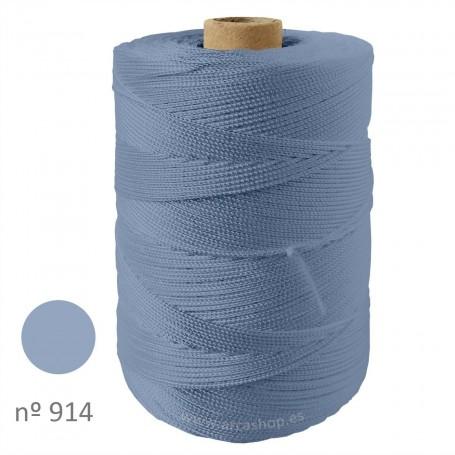 Hilo Cuquillo gris azulado  Rollo. Complementos, madroños y mantoncillos trajes de  flamenca