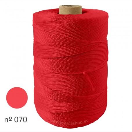 Hilo Cuquillo rojo coral  Rollo. Complementos, madroños y mantoncillos trajes de  flamenca