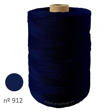 Hilo Cuquillo Flamenca azul marino  Rollo.